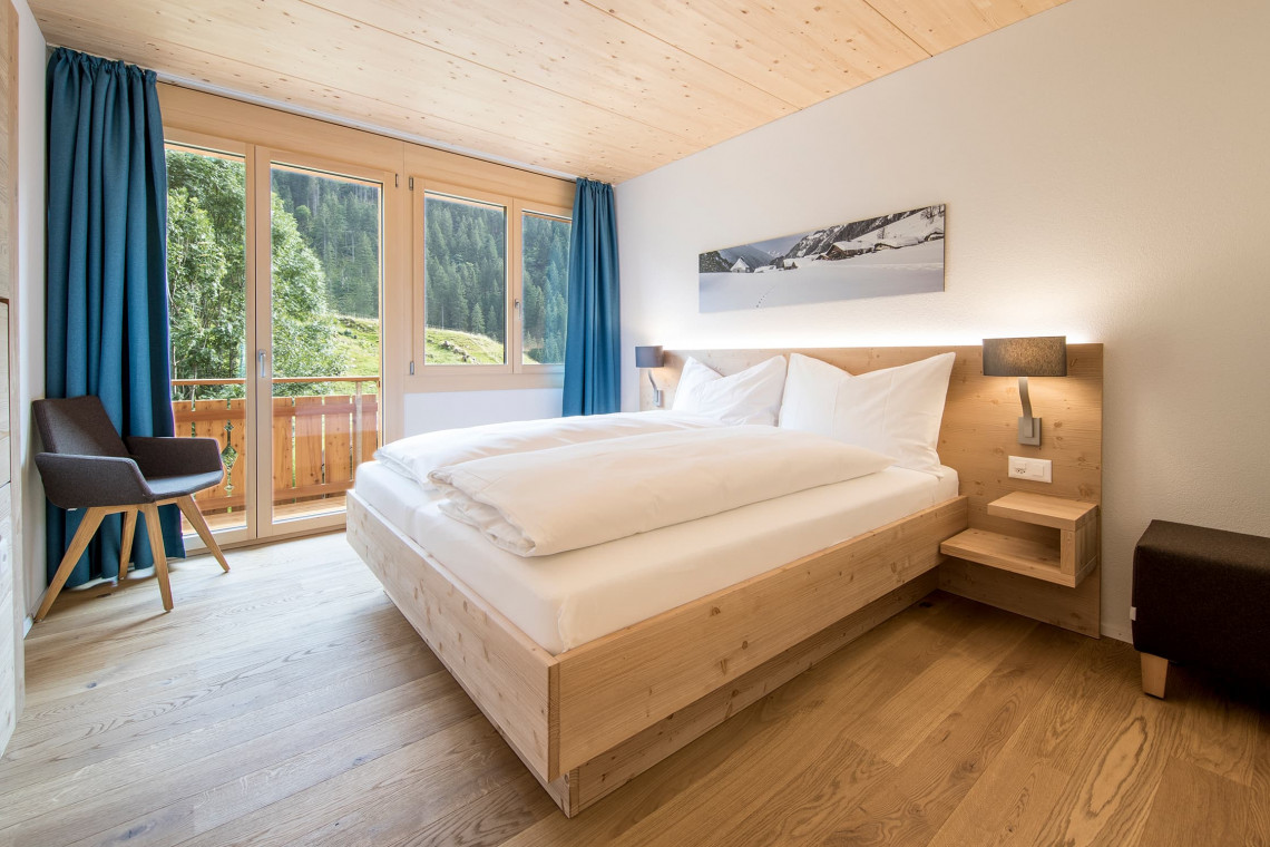Double room at Gadmer Lodge